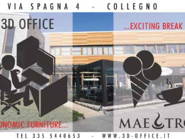 Affitta sale meeting di 3d Office a Collegno