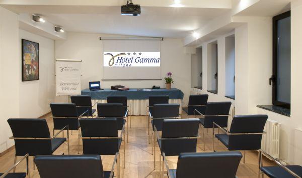 hotel gamma milano affitta sale meeting e riunioni a milano